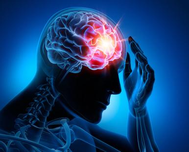 Kopfschmerzen einseitig auf der rechten Seite